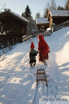 Norsk vinter. Vinter fun!