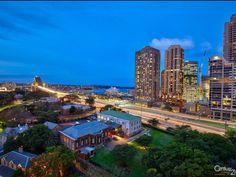 Evening view Highgate Kent St Sydney
