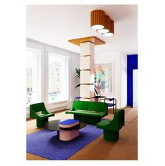 A new interior architecture is emerging, that will move boundaries between objec – Furniture Geometric Furniture, Design Furniture, Colorful Furniture, Modern Furniture, Modern Interior Design, Interior Styling, Interior Architecture, Contemporary Design, Colour Blocking Interior