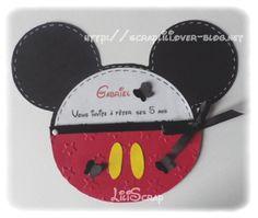 Faire-part Mickey
