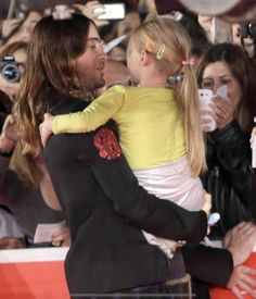 "Jared Leto is a sweetheart for taking a moment to greet a young fan before being honored at the Rome Film Festival for his brilliant performance in ""Dallas Buyers Club"". Now that is extra special."