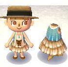 Lace Vest and Ruffle Dress