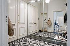 Design Hub - блог о дизайне интерьера и архитектуре: Просторная квартира в Швеции