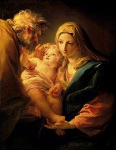 Pompeo Girolamo Batoni: Sagrada Familia.