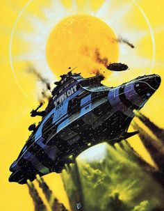 Chris Foss - Mission to the Stars by myriac, via Flickr | Click through for a larger image