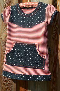 Stoffmix-Shirt Klein Fanö Farbenmix