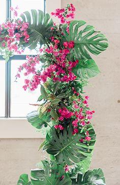 Modern Fuchsia Wedding Inspiration - Inspired by This