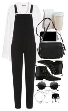 """""""Untitled #7399"""" by nikka-phillips ❤ liked on Polyvore featuring H&M, rag & bone, MANGO, Coach, Yves Saint Laurent, Humble Chic, Nashelle and Marc Jacobs"""