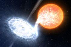 Via NASA :  Star + Black Hole