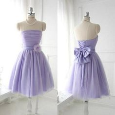 Short Lavender Bridesmaid Dresses Beautiful Bow Prom Dresses Party Dresses Tulle Homecoming Dresses 2014 New Fashion Lavender Bridesmaid Dresses, Knee Length Bridesmaid Dresses, Knee Length Dresses, Coral Bridesmaids, Bridesmaid Gowns, Sweetheart Prom Dress, Tulle Prom Dress, Homecoming Dresses, Chiffon Dress