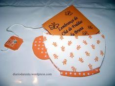 Maos que Criam by Maria Luiza: Passo a passo: Lembrancinha para chá de bebê