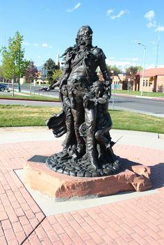 ~ Porter Rockwell Statue Lehi ~