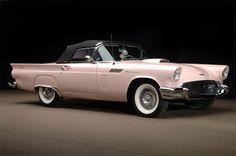 Ford Thunderbird 1957 #ClassicCars #CTins #Ford