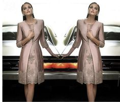 Knee Length Mother Of The Bride Dresses Mother Of The Bride Dresses Satin Long Coat Wedding Formal Guest Gown/Outfits For Party Dresses Mother In Law Dresses From Liuningshop, $162.31  Dhgate.Com