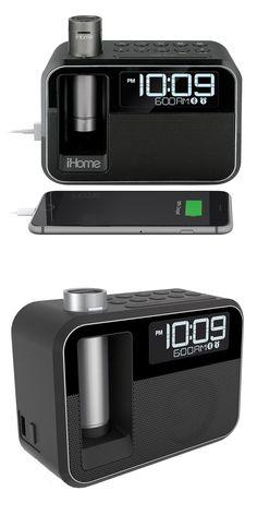 Digital Clocks and Clock Radios: Ihome Kineta Dual Charging Alarm Clock Radio W 2 Portable Powerbanks Value Pack -> BUY IT NOW ONLY: $44.95 on eBay!