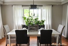 Jason's Kitchen and Dining Room and Our In Christ Alone Oversized Signs by Dear Lillie