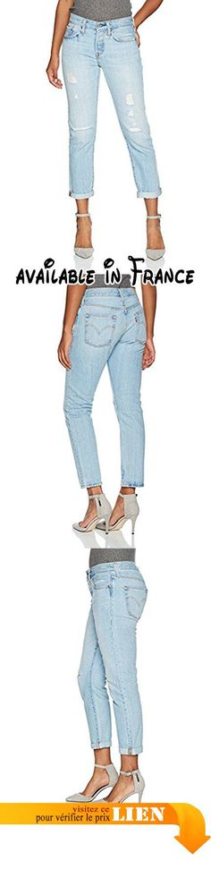314 Shaping Straight, Jean Droit Femme, Bleu (City Slicker 48), W26/L32Levi's