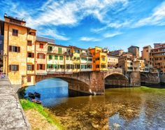 The Ponte Vecchio, or Old Bridge, is a medieval stone arched bridge over Arno river in Florence, Italy. Royal Caribbean, Southern Caribbean, Florence Hotels, Florence Tuscany, Tuscany Italy, Visit Florence, 10 Days In Italy, Le Colorado, Freedom Of The Seas
