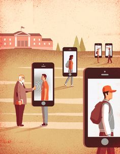 Conceptual Illustrations by Davide Bonazzi, via Behance