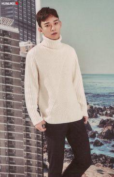 EXO (Chen) 2017 Season Greetings / #kimjongdamn #turtleneck #winteronthebeachlike