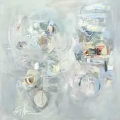 Sarah Otts, 'Perplexity', Mixed Media on Canvas, 48x48 - Anne Irwin Fine Art