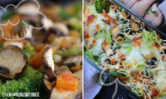 Leichtes Brokkoli-Gemüsegratin