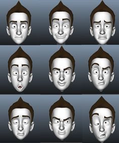 3d face expression - Google'da Ara