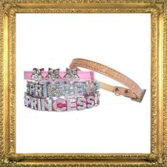 Unique personalised cat collar,  with either high quality silver or gold letters.