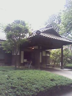 Mr. Korekiyo Takahashi's house built in 1902 originally at Akasaka. It was rebuilt at Edo-Tokyo open air architectural museum.