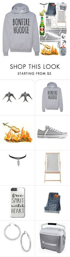 """""""~Happy Cinco De Mayo~"""" by justwanderingon ❤ liked on Polyvore featuring Blackbird and the Snow, Converse, Bloomingville, BOSS Orange, Signature Gold, Igloo and hoodie"""