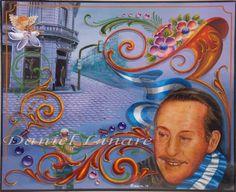 Fileteado porteño Daniel Linare : Fileteado porteño