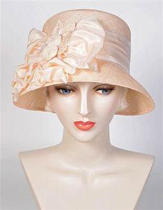 6694e2d759c 1920s Style Hats SummerS Light Taffeta Hat  280.00 AT vintagedancer.com 30s  Fashion