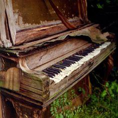 Abandoned piano.... UnThinkAble