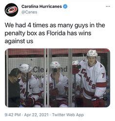 Hockey Baby, Ice Hockey, Hockey Memes, Florida Panthers, Carolina Hurricanes, World Of Sports, Sports Humor, Nhl, Athlete