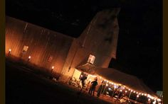 another shot of our venue, The Milestone Barn - Chesaning, MI