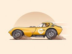 Vehicle Illustrations by Christopher Hebert