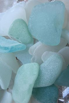 Sea glass from Norway
