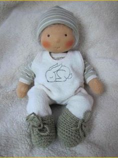 waldorf doll by Allerleipuppen #waldorf doll