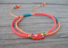 Micro Macrame Bracelet by Gleeful Things, via Flickr
