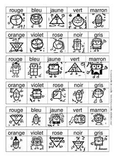 cherche et trouve - la maternelle de Camille Lire les couleurs lamaternelledecamille OK