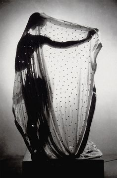 It's like a shadow of the past, or a vision into the future.  Erwin Blumenfeld, Veiled dancer, c.1933