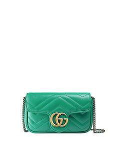 11adafa3529ef2 GG Marmont Matelassé Leather Super Mini Bag Gucci Marmont, Gg Marmont, Gucci  Designer,