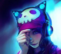DJ Anime Girl