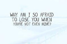 I just got rejected by someone i really loved. Its really painful. Especially when they werent even yours. :(