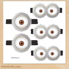 pin minion 2 FREE Despicable Me Pin the Goggles on the Minion Printable