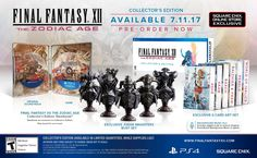 This is a $200 collector's edition for Final Fantasy XII: The Zodiac Age