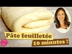 Recette de la PATE FEUILLETEE RAPIDE et FACILE en 10 mn top chrono ! - YouTube