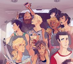 Lost in Pepperland, Demigods on a road trip // NOWHERE-LITTLE-GIRL ON TUMBLR