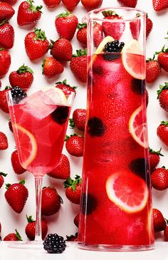 Red Berry Sangria #recipe