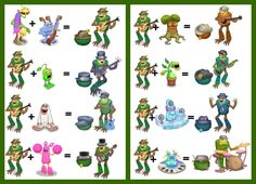 My singing monsters Shugabush breeding guide